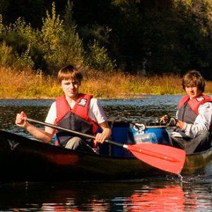 Wandertouren Kajak und Kanadier