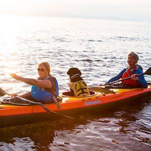 Kurse und Touren für Seekajak