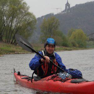 geführte Kanutour auf der Weser